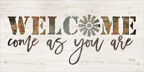 Marla Rae MAZ5109GP - Welcome Come as Your Are - Farm, Windmill, Welcome, Signs from Penny Lane Publishing