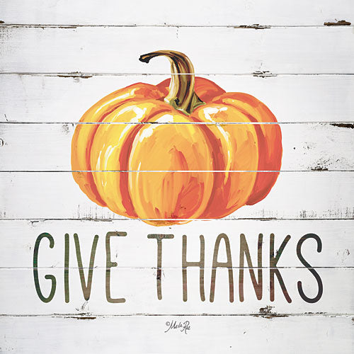 Marla Rae MAZ5124GP - Give Thanks Pumpkin - Fall, Harvest, Inspirational from Penny Lane Publishing
