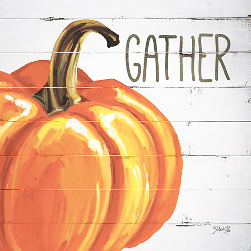 Marla Rae MAZ5125 - Gather Pumpkin - Fall, Harvest, Inspirational from Penny Lane Publishing