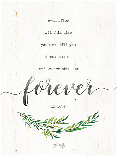 Marla Rae MAZ5132GP - Forever in Love - Forever, Greenery, Typography from Penny Lane Publishing
