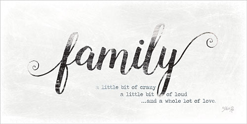 Marla Rae MAZ5133GP - Family - A Whole Lot of Love - Family, Typography, Signs from Penny Lane Publishing