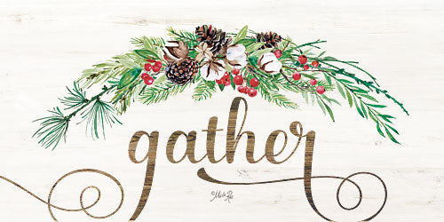 Marla Rae MAZ5149GP - Gather - Gather, Greenery, Pine Cones, Berries, Signs from Penny Lane Publishing