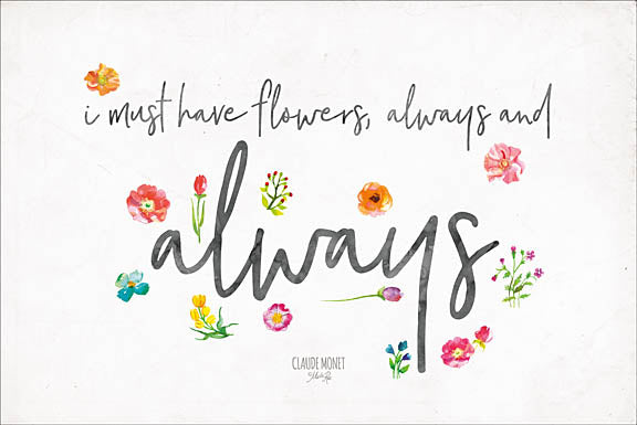Marla Rae MAZ5155 - Always Have Flowers - Flowers, Signs, Blossoms from Penny Lane Publishing