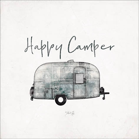 Marla Rae MAZ5156 - Happy Camper - Happy, Camper, Antiques, Trailer from Penny Lane Publishing