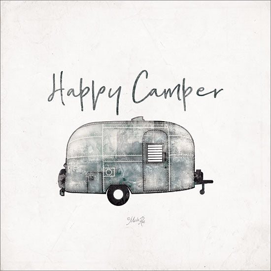 Marla Rae MAZ5156GP - Happy Camper - Happy, Camper, Antiques, Trailer from Penny Lane Publishing