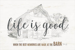 MAZ5161 - Life is Good at the Barn - 18x12