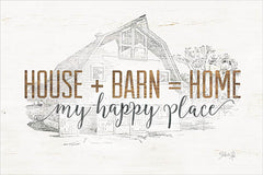 MAZ5163 - House + Barn = Home - 18x12