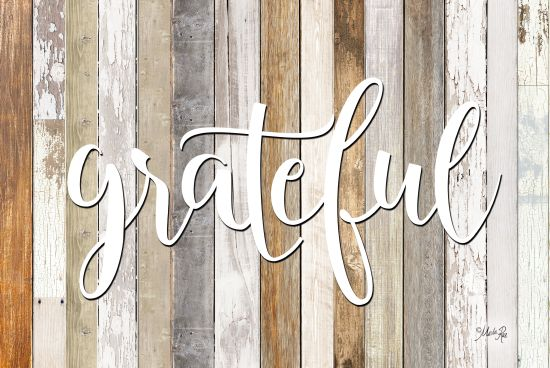 Marla Rae MAZ5196GP - Grateful - Grateful, Wood Planks, Calligraphy from Penny Lane Publishing