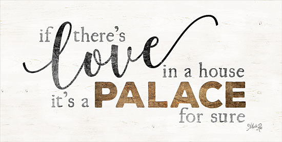Marla Rae MAZ5207GP - A Palace - Love, Palace, Signs, Typography from Penny Lane Publishing