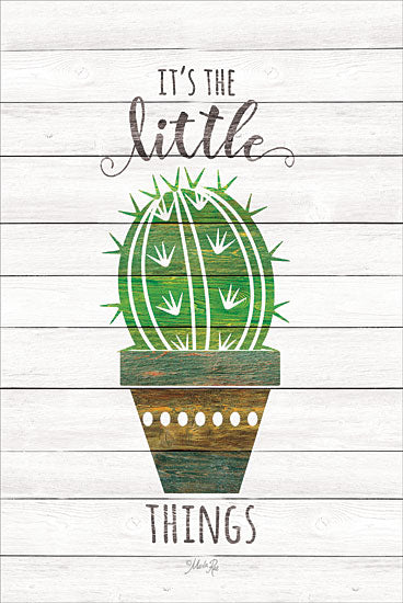 Marla Rae MAZ5224GP - It's the Little Things - Cactus, Southwest, Pots, Little Things from Penny Lane Publishing