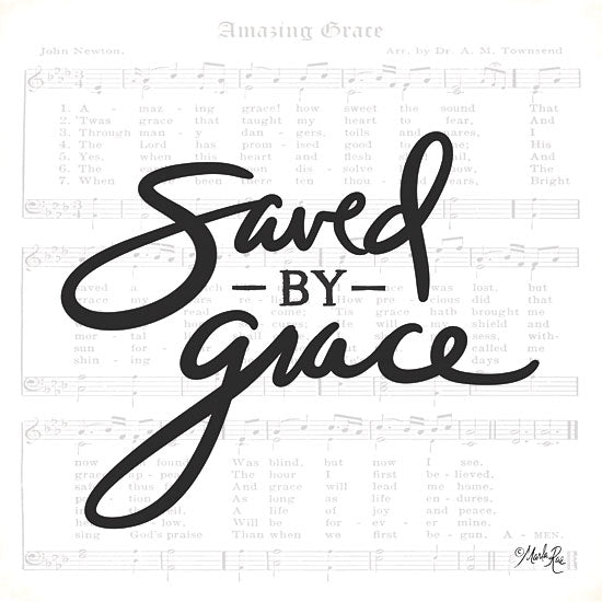 Marla Rae MAZ5324 - Saved by Grace Amazing Grace, Sheet Music, Music, Song, Signs from Penny Lane