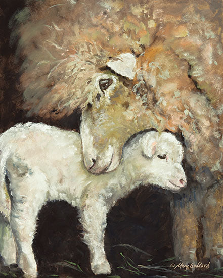 Mary Goddard MG102 - Love Ewe Sheep, Mother and Child, Farm, Ewe, Lamb, Portrait from Penny Lane