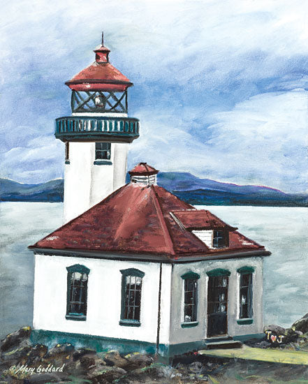 Mary Goddard MG106 - Lime Kiln Lighthouse Lighthouse, Lime Kiln, Coastal, San Juan Islands Washington from Penny Lane