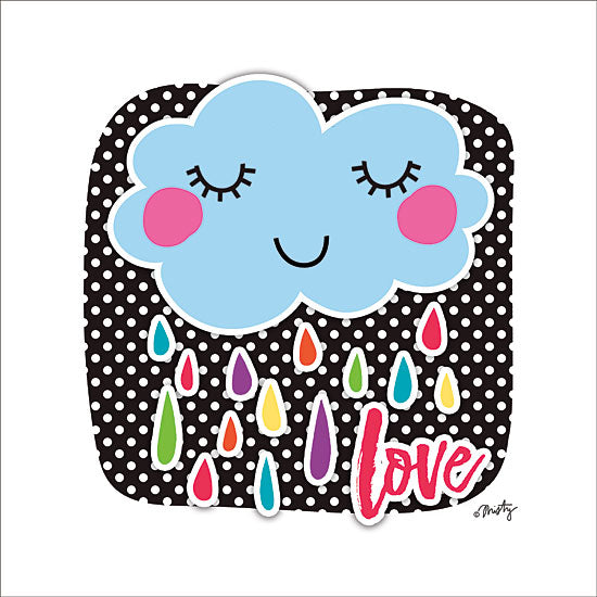 Misty Michelle MMD325 - Love Cloud Love, Cloud, Babies, Kids, Polka Dots, Signs from Penny Lane