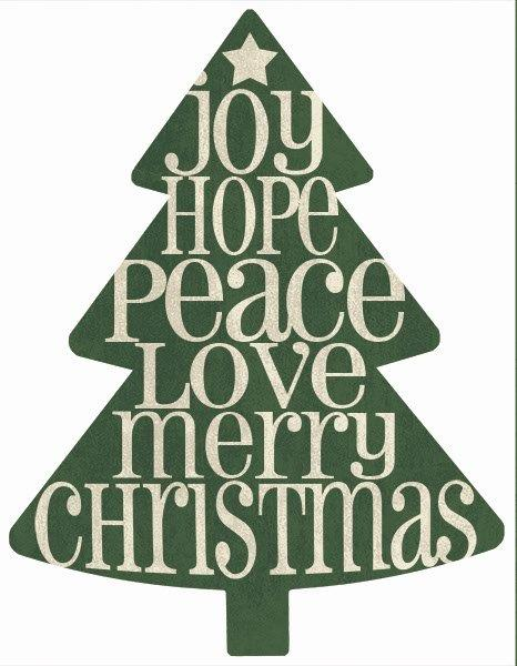 Misty Michelle MMD383TREE - MMD383TREE - Joy, Hope, Peace  - 14x18 Signs, Christmas Tree, Joy Hope Peace, Merry Christmas, Wood Planks, Typography from Penny Lane