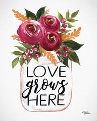 MN119 - Love Grows Here - 12x16