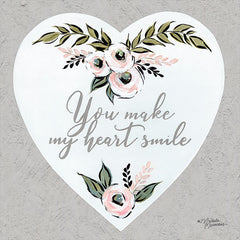 MN124 - You Make My Heart Smile - 12x12