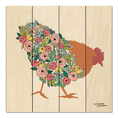 MN132PAL - Floral Rooster