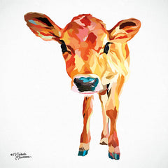 MN142 - Cute Little Calf - 12x12