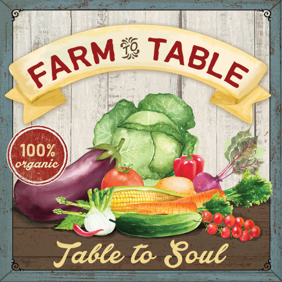 Mollie B. MOL1906 - Farm to Table Farm to Table, Vegetables, Kitchen, Farm from Penny Lane