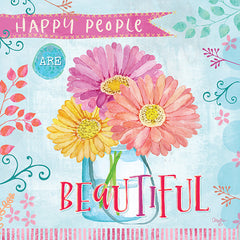 MOL1917 - Happy People are Beautiful - 12x12