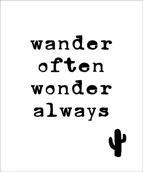 Masey St. Studios MS134 - Wander Often Wander, Cactus, Humor, Signs from Penny Lane