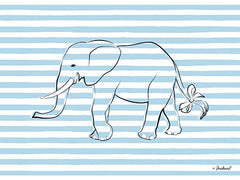 PAV143 - Elephant in Stripes - 16x12