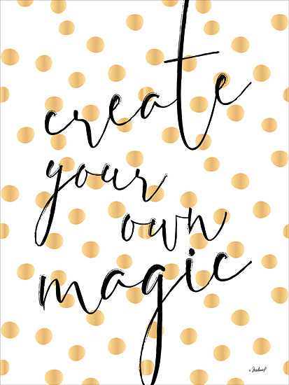 Martina Pavlova PAV267 - PAV267 - Create Magic     - 12x16 Signs, Patters, Dots, Calligraphy, Magic, Motivational from Penny Lane