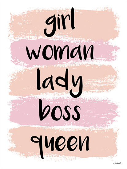 Martina Pavlova PAV331 - PAV331 - Girl Queen - 12x16 Signs, Feminine, Typography, Queen, Boss from Penny Lane