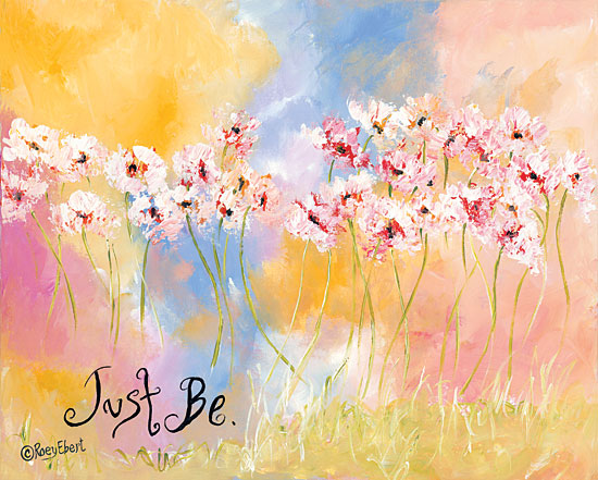 Roey Ebert REAR236 - Just Be Just Be, Abstract, Flowers, Wild Flowers, Field from Penny Lane
