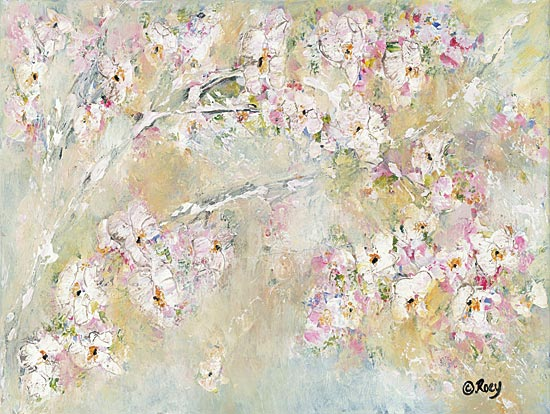 Roey Ebert REAR285 - REAR285 - Branching Out - 16x12 Flower Branches, Abstract, Modern from Penny Lane