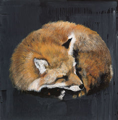 RED100 - Sleeping Fox No. 7 - 12x12