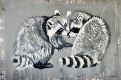 RED125 - Two Raccoons - 18x12