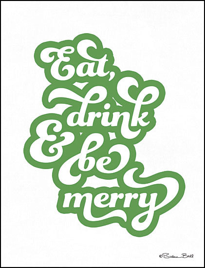Susan Ball SB628 - Eat Drink and Be Merry Eat, Drink, and Be Merry, Signs, Holidays from Penny Lane