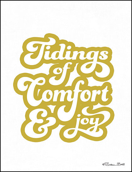 Susan Ball SB630 - Tidings of Comfort & Joy Tidings of Comfort and Joy, Holidays, Signs from Penny Lane