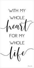 SB637 - With My Whole Heart - 12x24