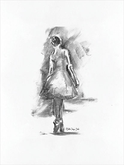 Stellar Design Studio SDS165 - SDS165 - Dance Figure 1 - 12x16 Black & White, Dancer, Ballet, Dancing, Woman from Penny Lane