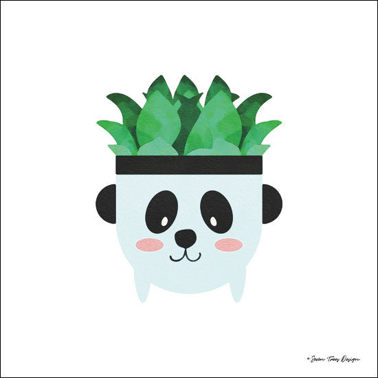 Seven Trees Design ST380 - Dog Plant  Dog, Plant, Cactus, Planter from Penny Lane