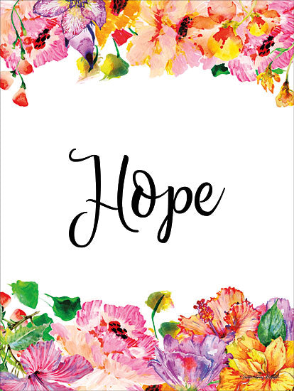 Seven Trees Design ST399 - Floral Hope Hope, Flowers, Signs from Penny Lane