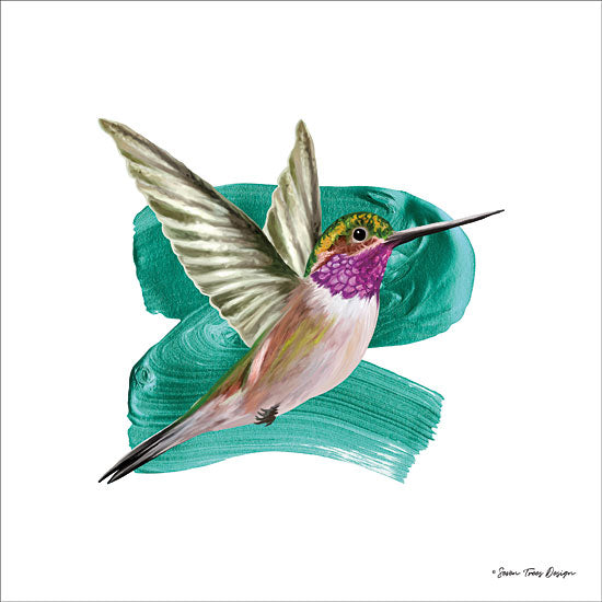 Seven Trees Design ST409 - Hummingbird I  Hummingbird, Birds from Penny Lane