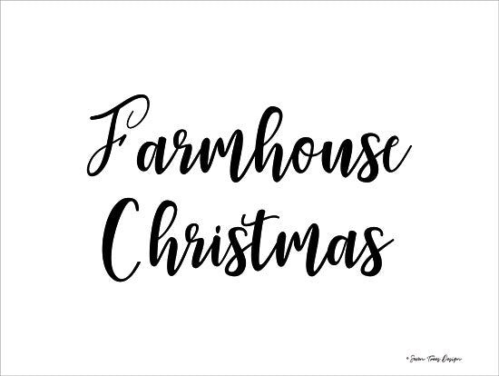Seven Trees Design ST452 - Farmhouse Christmas - 16x12 Farmhouse, Christmas, Holidays, Calligraphy from Penny Lane