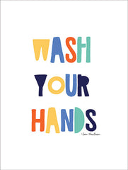 ST467 - Wash Your Hands - 12x16