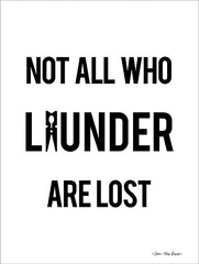 ST479 - Not All Who Launder are Lost - 12x16
