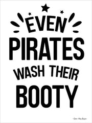 ST576 - Even Pirates Wash Their Booty - 12x16