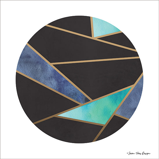 Seven Trees Design ST615 - ST615 - Abstract Circles I - 12x12 Abstract, Geometric, Circles, Modern from Penny Lane