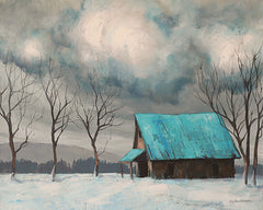 TGAR140 - Winter Barn - 16x12