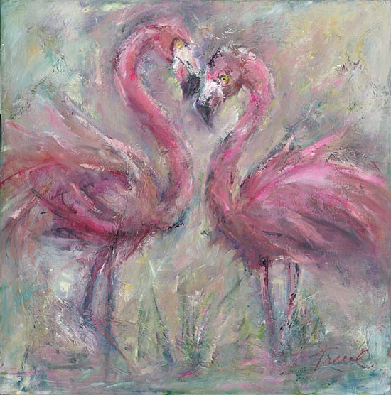 Tracy Owen-Cullimore TOC124 - TOC124 - Hotties - 12x12 Flamingoes, Birds, Abstract from Penny Lane