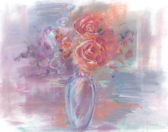 Tracy Owen-Cullimore TOC133 - TOC133 - First Blush - 16x12 Flowers, Abstract, Vase, Bouquet from Penny Lane