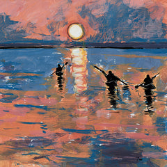 TRU130 - Sunset Kayaking - 12x12