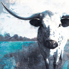 WL129 - Cow Close Up - 12x12